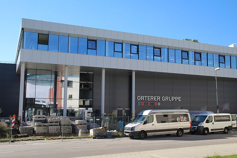 Besichtigung Logistikzentrum Orterer Gruppe - ICU e.V.